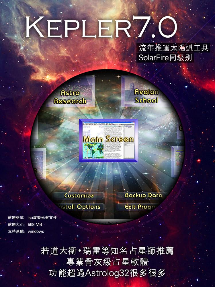 占星软件kepler 7.0下载